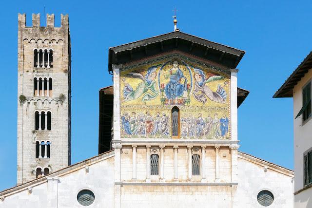 Basílica San Frediano en Lucca, Toscana