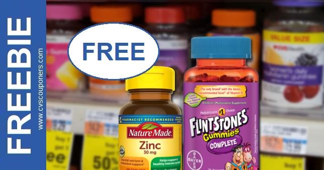 FREE Flintstones Multivitamins CVS Deals