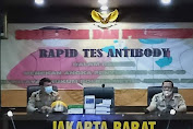 Polres Jakarta Barat Gelar Sosialisasi Dan Pelatihan Tes Rapid Antibody Pada Jajarannya