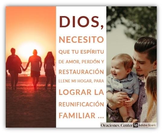 Una Oración y Peticiones por la Familia