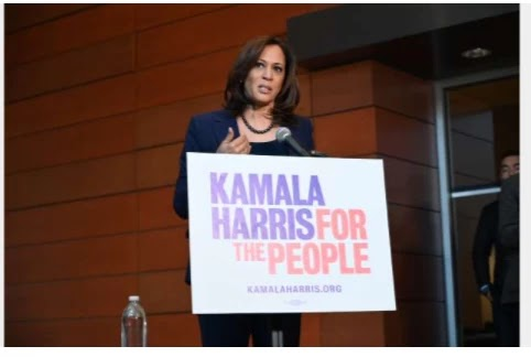 'She's outraged': Trump launches fresh attack on Kamala Harris, the first black and Asian woman to run for office