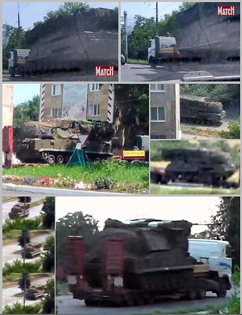 Os mísseis Buk foram flagrados em todo seu percurso  até o local do disparo e retorno a Rússia