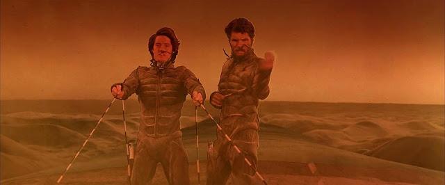 Kyle MacLachlan e Everett McGill em Duna (1984)