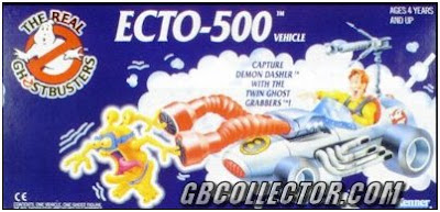 The REAL Ghostbusters Kenner Ecto-500 Vehicle