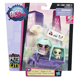 Littlest Pet Shop City Rides Tibsy Apso (#72) Pet