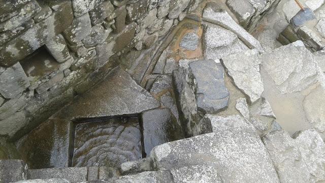 Machupicchu, pozos canalización de agua