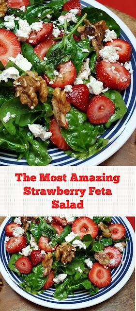 The Most Amazing Strawberry Feta Salad