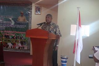 Robert Rumbekwan Buka Rakornis Permasalahan Pembangunan Wilayah di Papua Barat