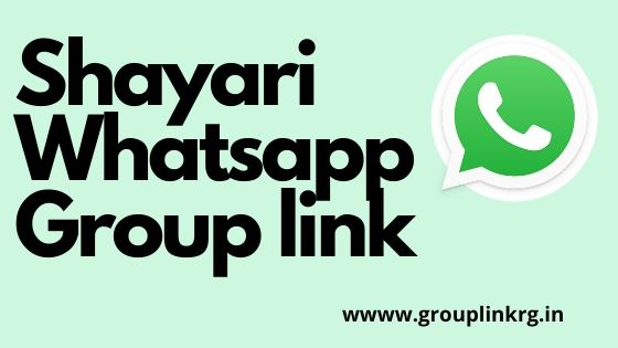 Shayari WhatsApp Group Link 2020