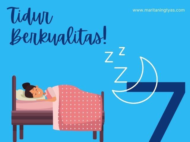 tidur berkualitas untuk meningkatkan produktivitas