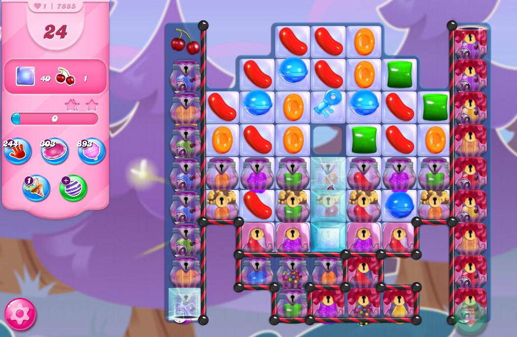 Candy Crush Saga level 7885
