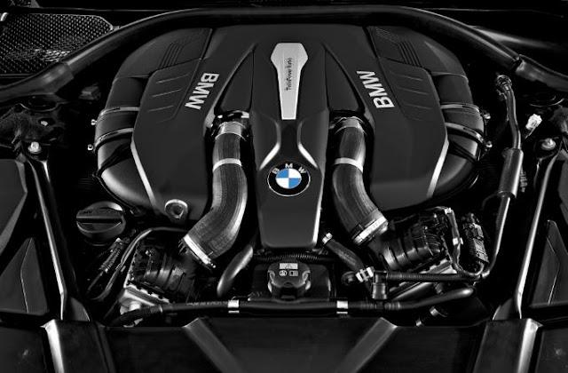 2016 BMW 750i Engine