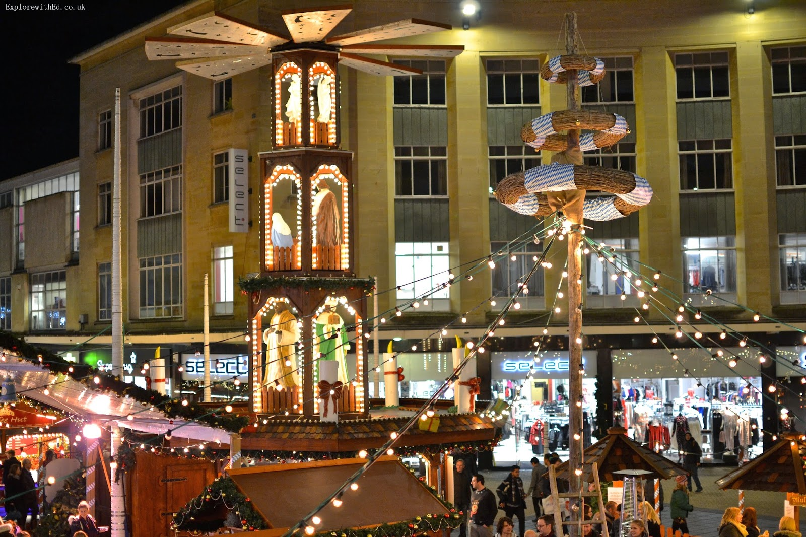 Christmas Stall in Bristol