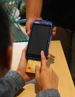 bayar aplikasi kasir spots dengan debit