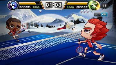 1. Badminton