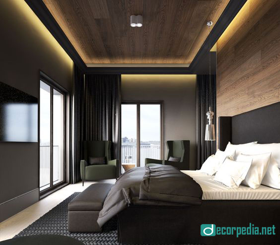 Bedroom Ceiling Cladding Best Bedroom Ceiling Designs Bedroom Paint Ideas Yellow Black King Bedroom Set: The Best False Ceiling Designs And Ideas For Bedroom 2019
