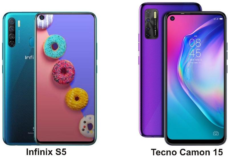 tecno-camon-15-vs-infinix-s5-price