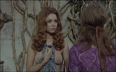 Daughters Of Darkness Part 38 Time For Bed Sandra Julien Gets A Shock In Les Frissons Des Vampires 1971