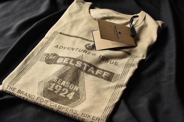 ベルスタッフのTシャツ
