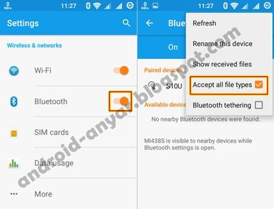 Cara Memperbaiki Bluetooth  Tidak Bisa Kirim File