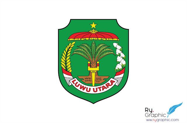 Download Logo Luwu Utara Vektor format CDR  corel Draw