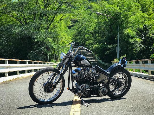 Harley Davidson Shovelhead By Zurusuke Hell Kustom