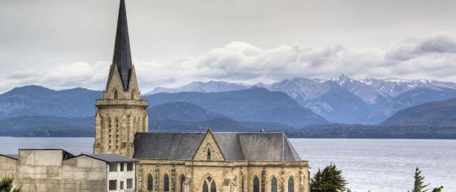 Catedral de Bariloche na lua de mel