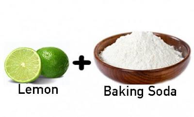 Chanh và Baking Soda giúp làm trăng răng bị ô vàng hiệu quả hơn