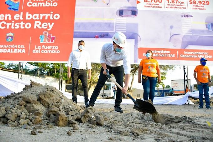 Con inversión de $10 mil millones se pone en marcha obra de conexión entre Troncal del Caribe y Vía Alterna