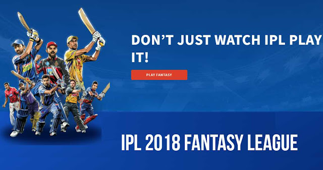 IPL Fantasy League 2018: Play and win Prizes
