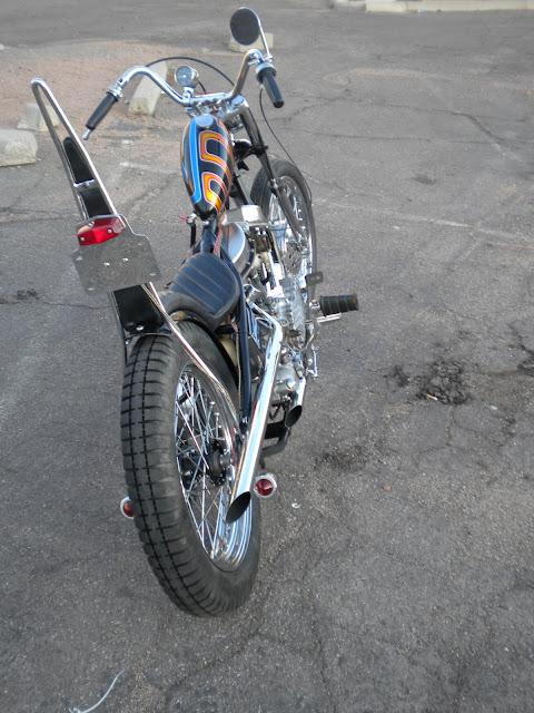 Harley Davidson Panhead 1950 By Love Cycles Hell Kustom