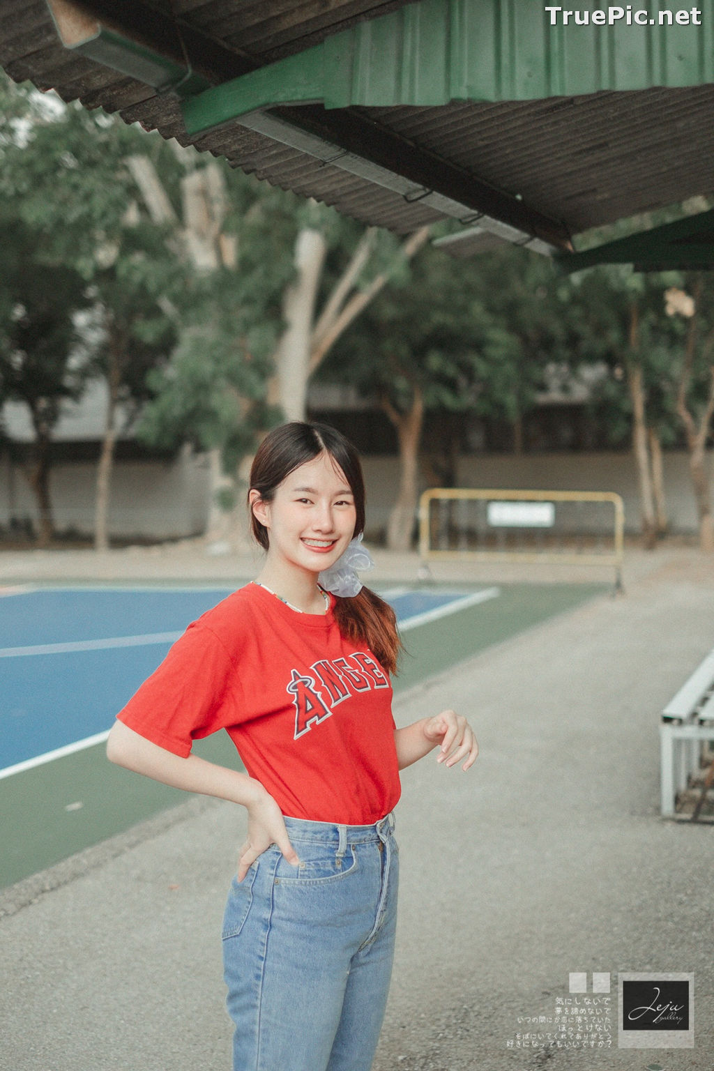 Image Thailand Cute Model - Fahfab Thunchanok - Red Angels - TruePic.net - Picture-5