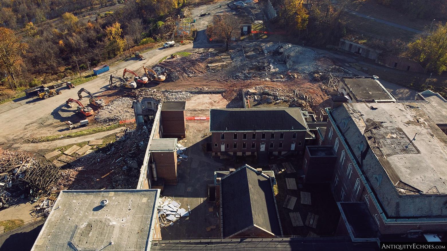 Allentown State Hospital - Demolition