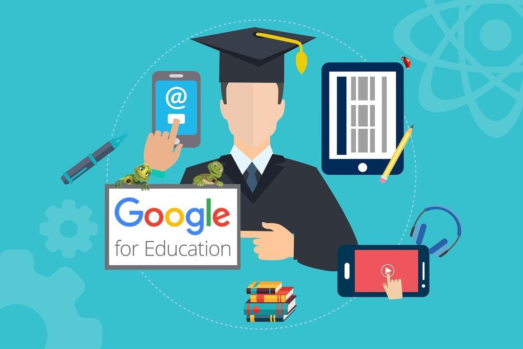 """Desde então, temos conseguido gerenciar as atividades de suporte ao acadêmico e as próprias aulas à distância, de modo síncrono, o que foi possível devido às plataformas que já tínhamos disponíveis. A parceria com o 'Google for Education' nos permitiu, também, dar continuidade à formação dos nossos estudantes com qualidade e eficiência""""..."""