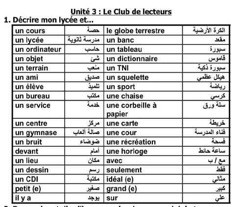 أقوى مراجعة في  اللغة الفرنسية للصف الأول الثانوي الترم الثاني 2018 مسيو إسماعيل عمار