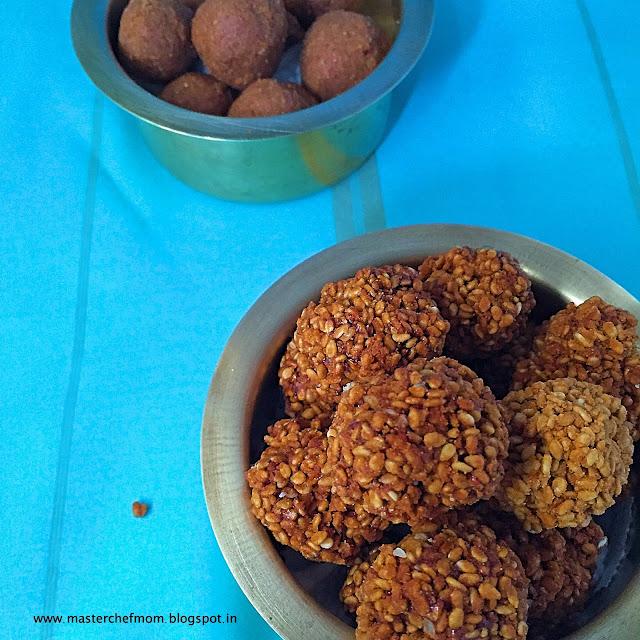 Ellu Urundai | Til Laddu/Laddoo | Til Mithai | Sesame seeds Laddu
