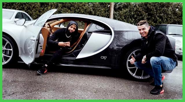 Cristiano Ronaldo's Bugatti Chiron