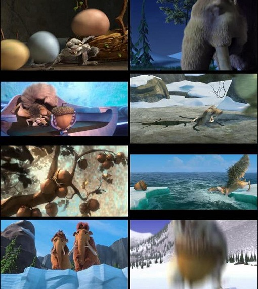 Ice%2BAge%2BCollision%2BCourse%2B%25282%2529 - Ice Age Collision Course Hindi Dubbed Download DVDRip
