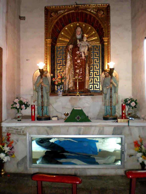 Altar das abadessas incorruptas
