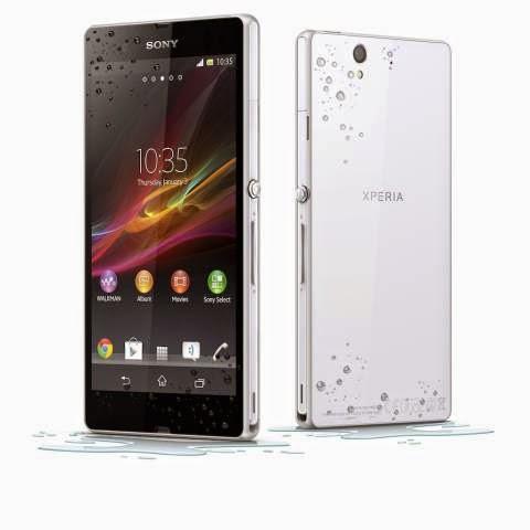 Harga HP Sony Xperia Z dan Spesifikasinya