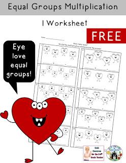 Making Equal Groups Worksheet FREE