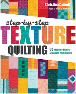step by step texture quilting by Christina Cameli