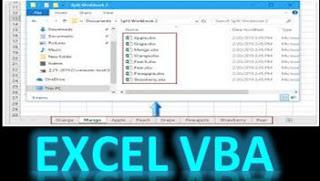 عالم الاوفيس | كيفية حفظ اى ورقة عمل كملف اكسيل منفصل بذاتة Excel VBA | ُExport and Save each worksheet as a separate Excel file