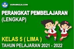 Perangkat Pembelajaran Lengkap SD Kelas 5 Kurikulum 2013 Tahun Pelajaran 2021-2022