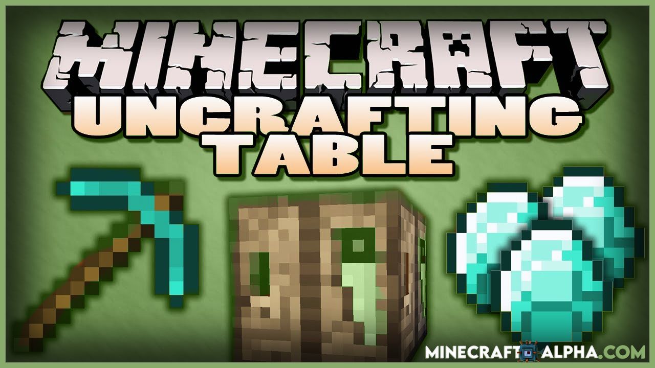 Simple Uncrafting Table Mod 1.17.1/1.16.5 (Reverse Crafting)