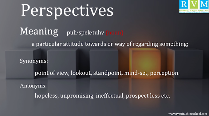 "Word Of The Day ""Perspectives"""
