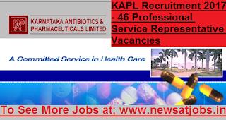KAPL-46-Professional-Service-Representative-Recruitment-2017