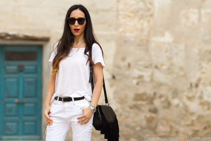 BLogger influencer de moda de Valencia con ideas de looks