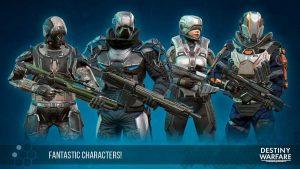 Destiny Warfare Mod Apk Terbaru 2018