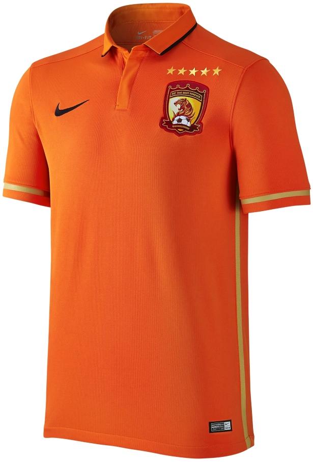 a2e23fad0 Nike divulga novas camisas do Guangzhou Evergrande - Show de Camisas